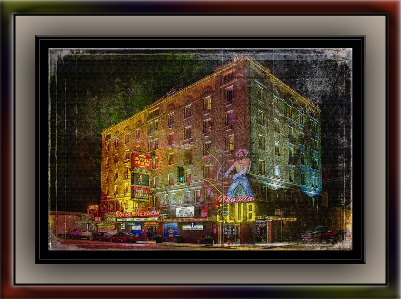 Hotel Nevada Grunge blog