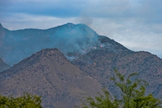 Early Morning Fires Remain
