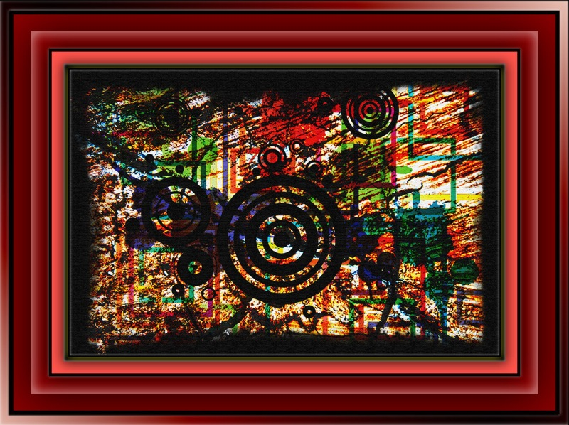Tree rings (1 of 1 Abstract Art blog