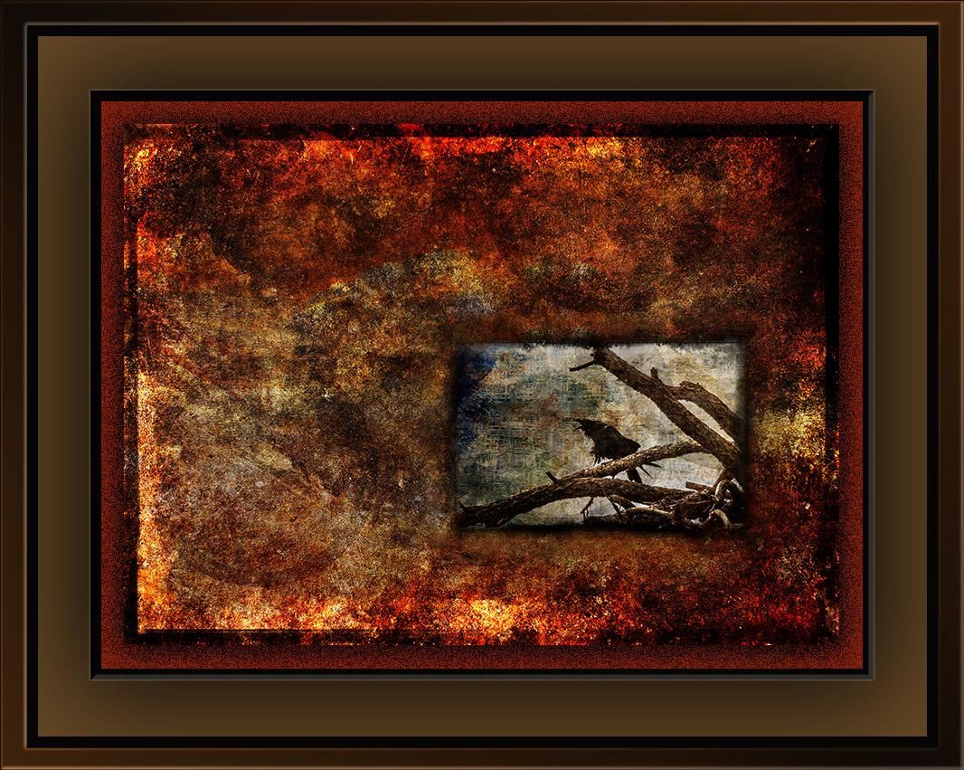 Rust5 & Raven Grunge Art blog