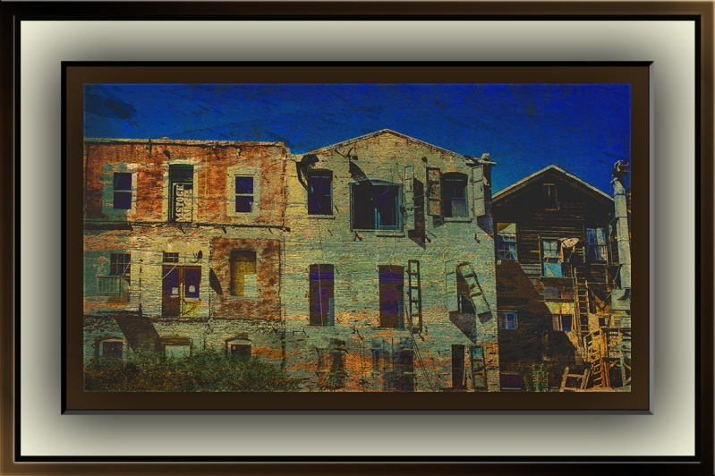 Virginia City Buildings (1 of 1) grunge art II blog