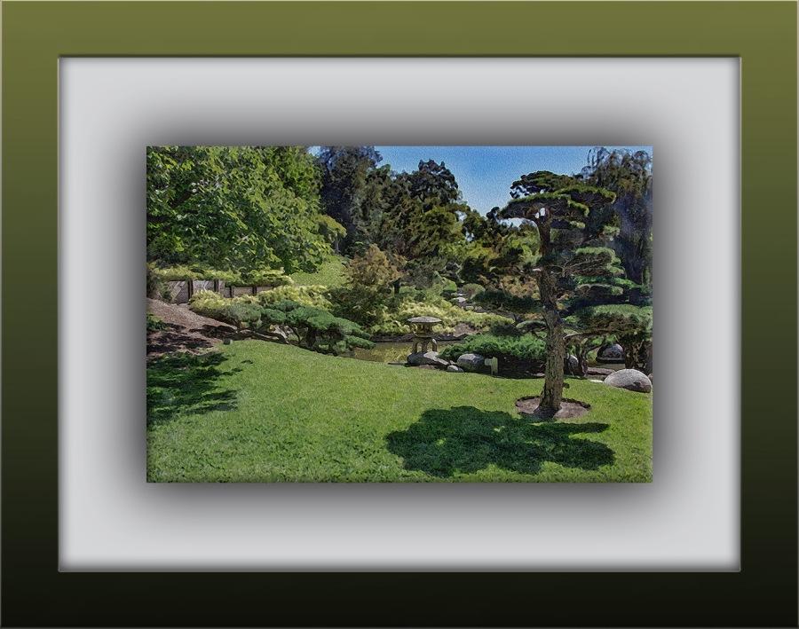 Japanese Garden (1 of 1) art painting blog