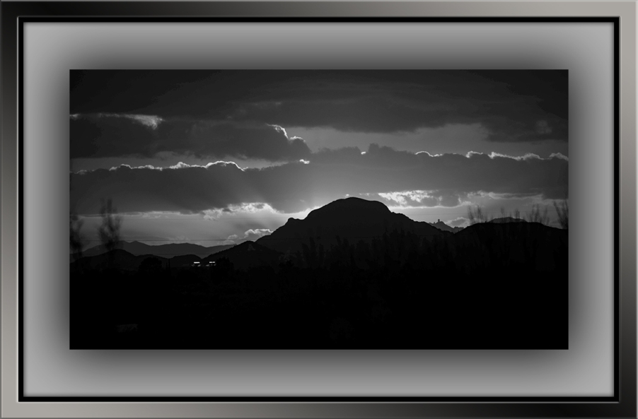 A Mountain Sunset (1 of 1)-3 B&W blog