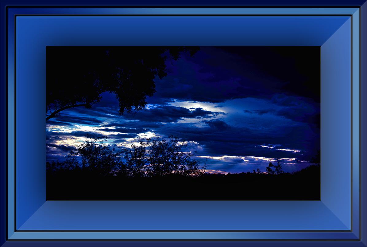 Sunset - blue shies (1 of 1) blog