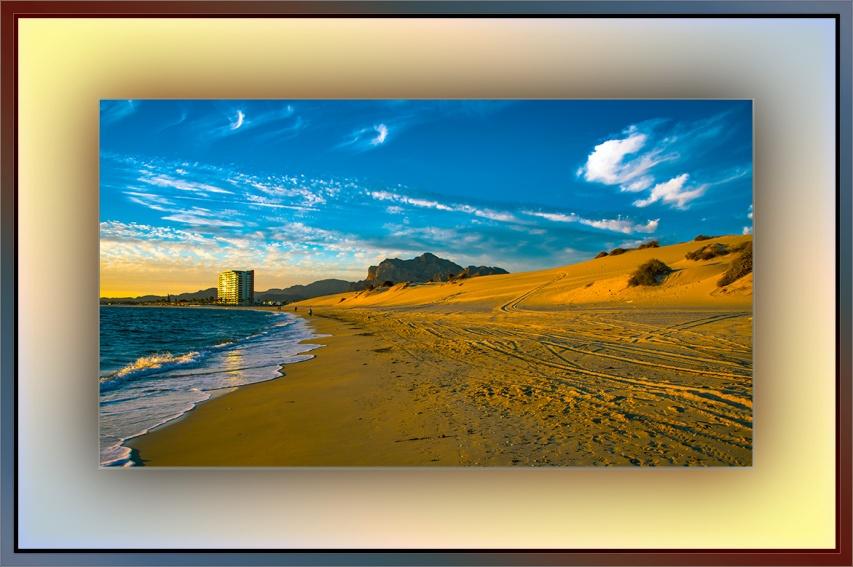 Sea of Cortez Sunset -- shore (1 of 1) blog