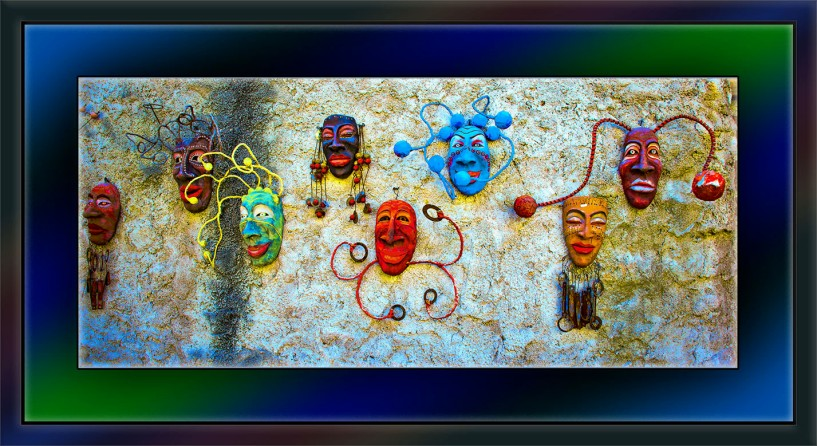 Wall Art (Masks) (1 of 1)_art blog
