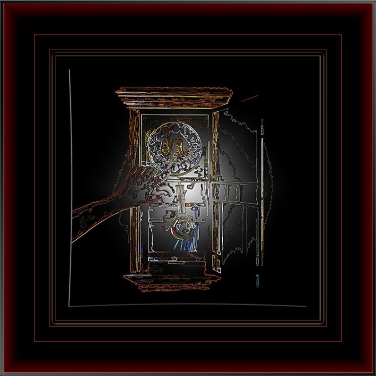 Hands of Time - 2011-08-11 Art II Framed blog