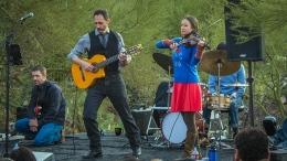 Domingo DeGrazia's Spanish-guitar band