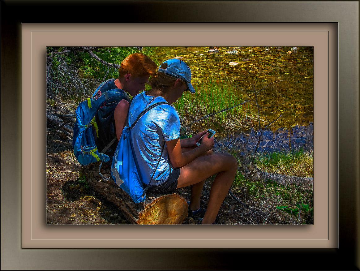 Boy & Girl By Stream-1116_ art blog