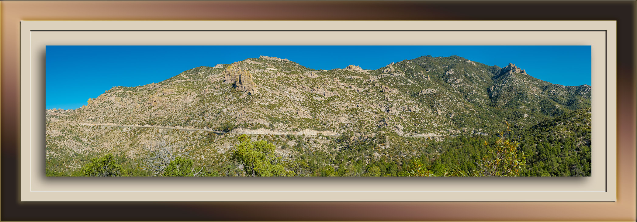 Catalina Highway from Bug Springs Trail- blog