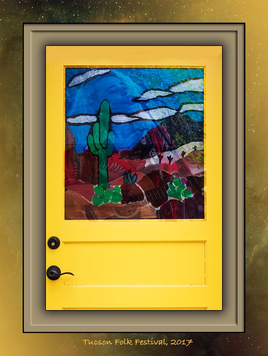 Yellow Door-1509 art blog