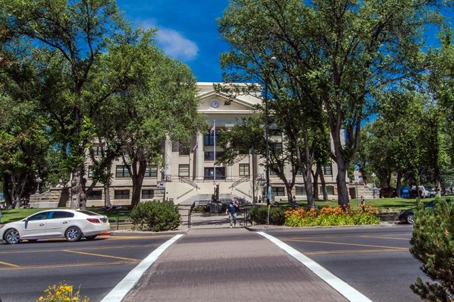 Prescott Yavapai County Courthouse Plaza -1820 blog