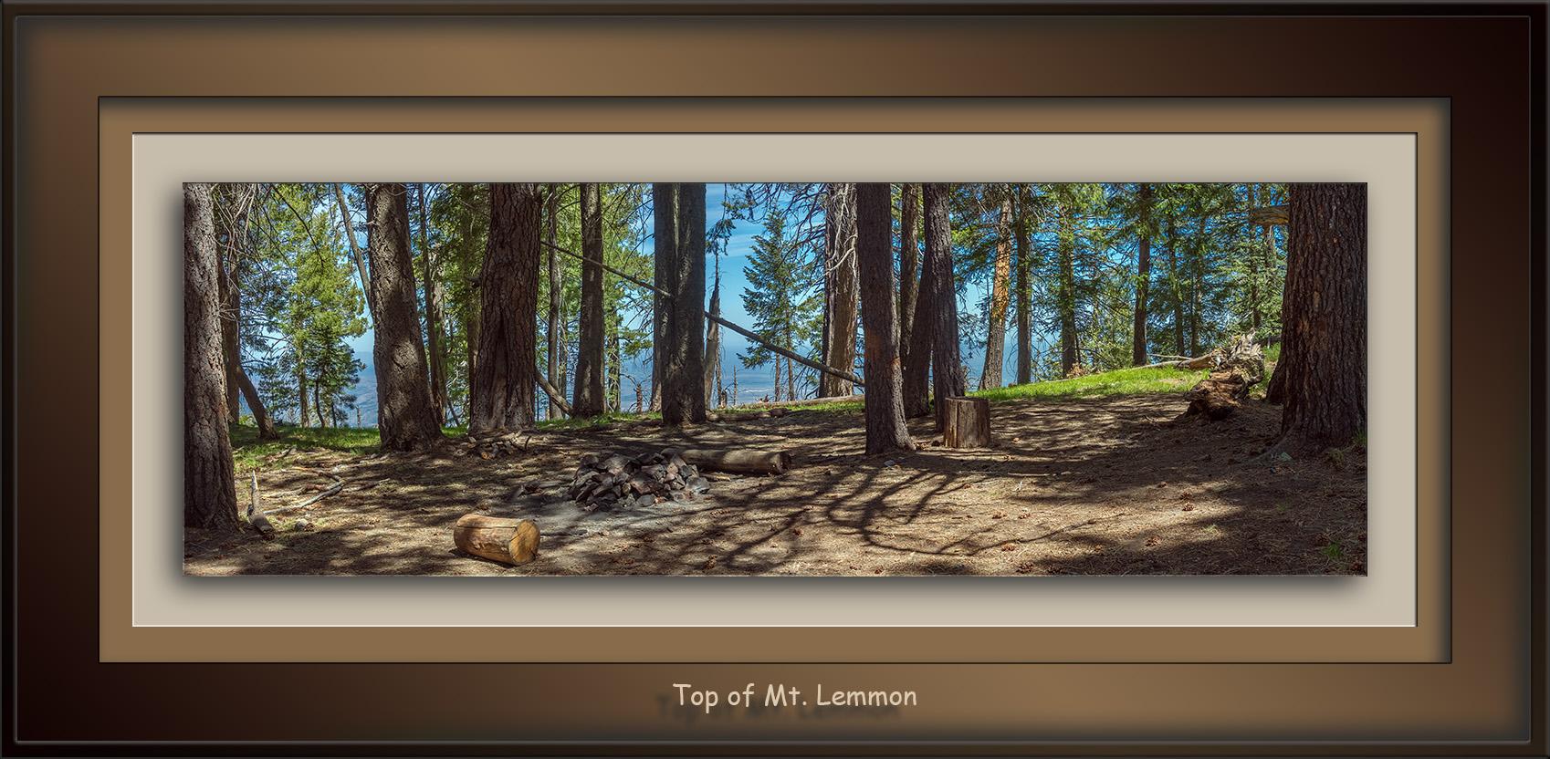 Mt. Lemmon Panorama- blog
