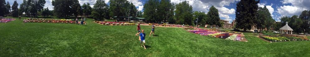 CSU Annual Trail Garden Panorama blog