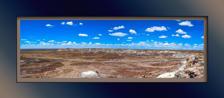 Painted Desert --2 blog framed
