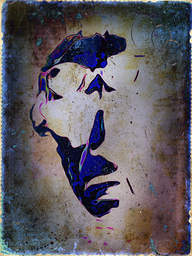 Charles_Bukowski_Grunge Art blog