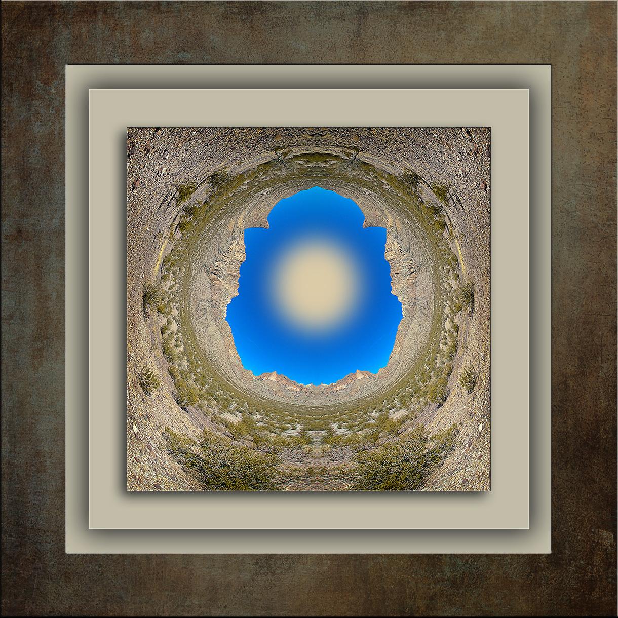 Doubtful Canyon Fisheye Art Oil Paint-blog