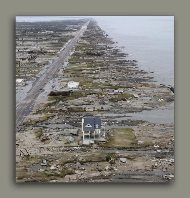Hurrican Ike Gulf Coast