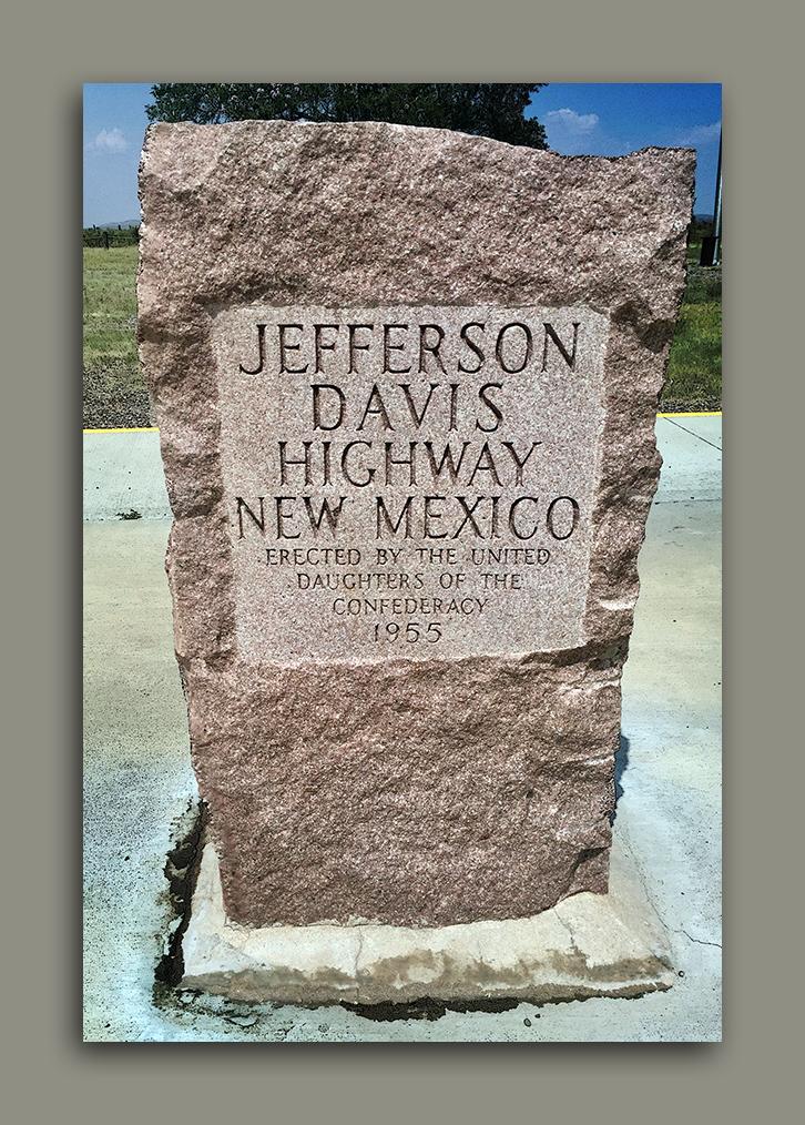 Jefferson Davis Highway Monument blog