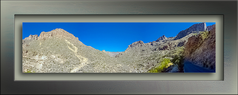 Sabino Canyon Panorama- blog
