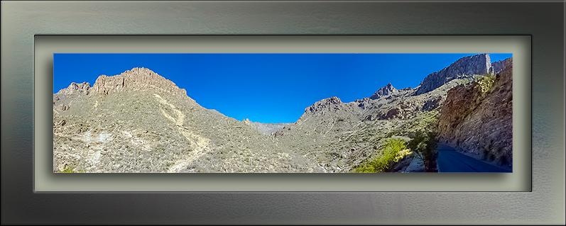 Sabino Canyon Panorama- blog
