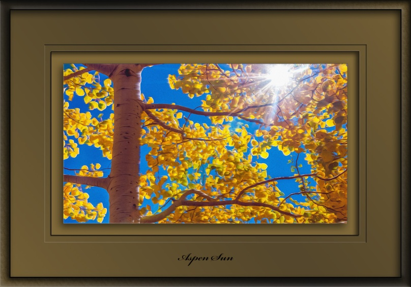 Fall Colors 2016 (1 of 1) Aspen Sun art blog