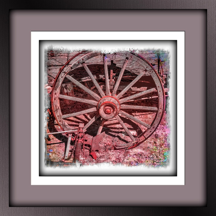 Willow Springs Ranch-8227 Old Wagon wheel_art blog