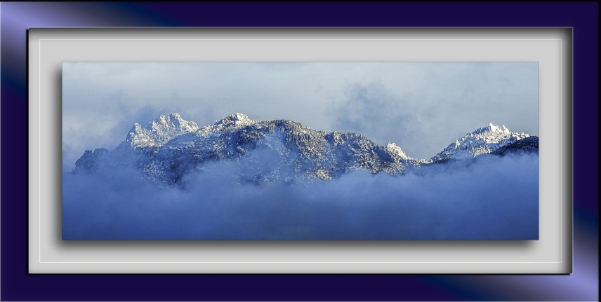 First Snow On The Mountains 2012