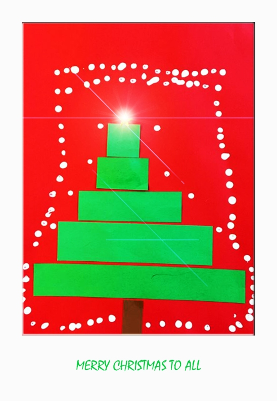 Jaxon's Xmas Tree CARD