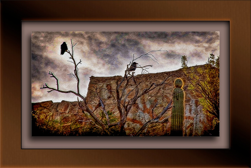 A Raven Morning_Oil blog