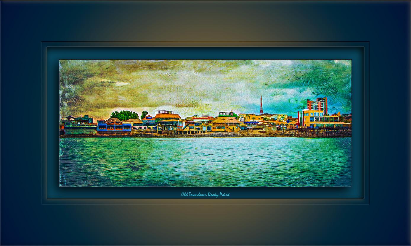 Old Shoreline-3369 Highpass Oil Painting blog