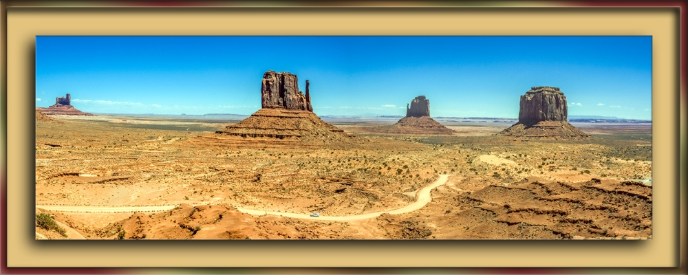 Monument Valley Panorama-blog
