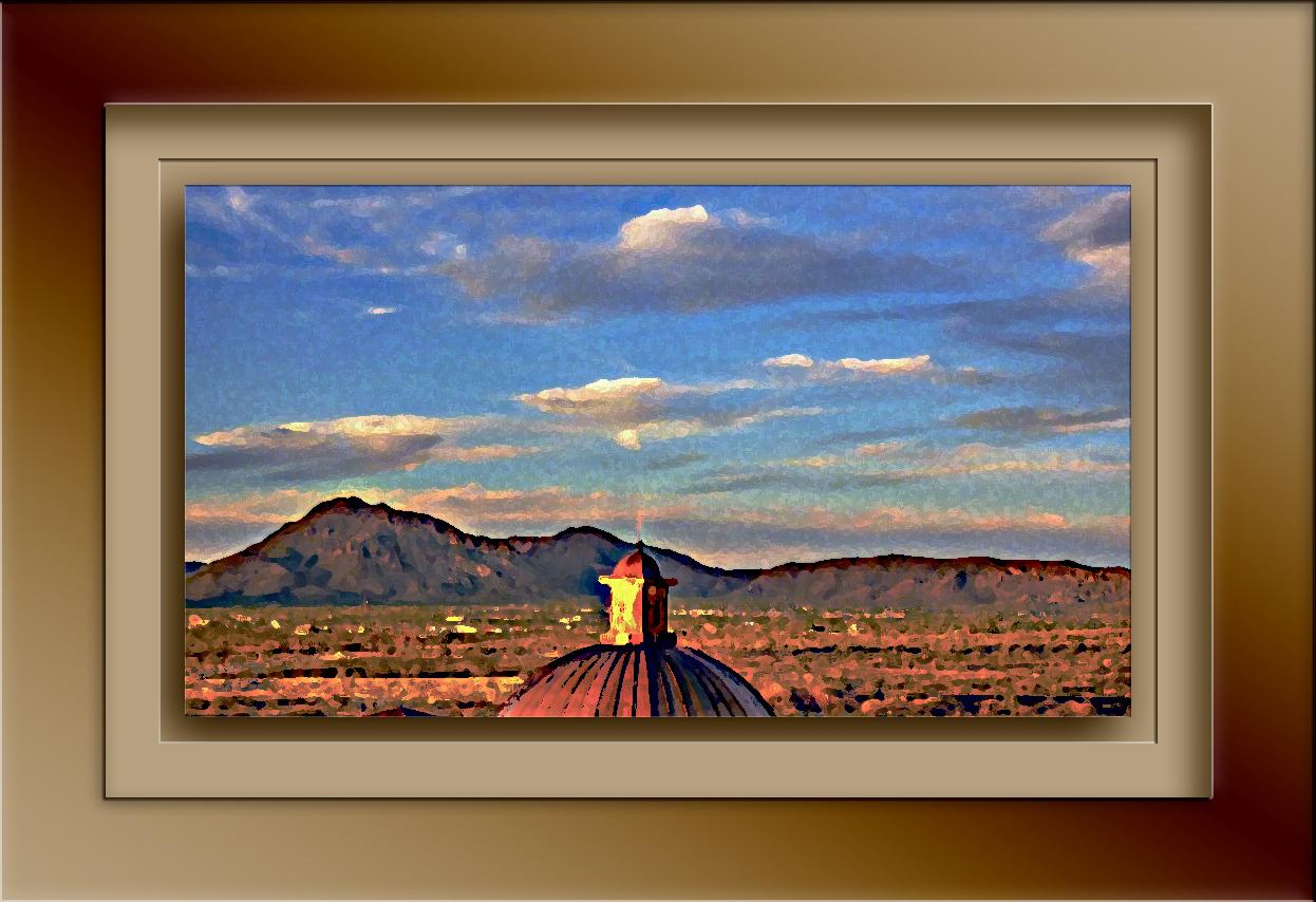 Casino Del Sol Dome art blog