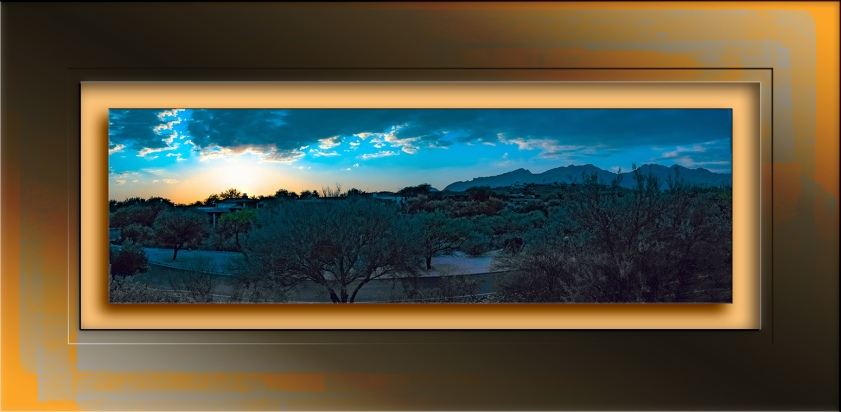 Tanui Ridge sunset Panorama blog-