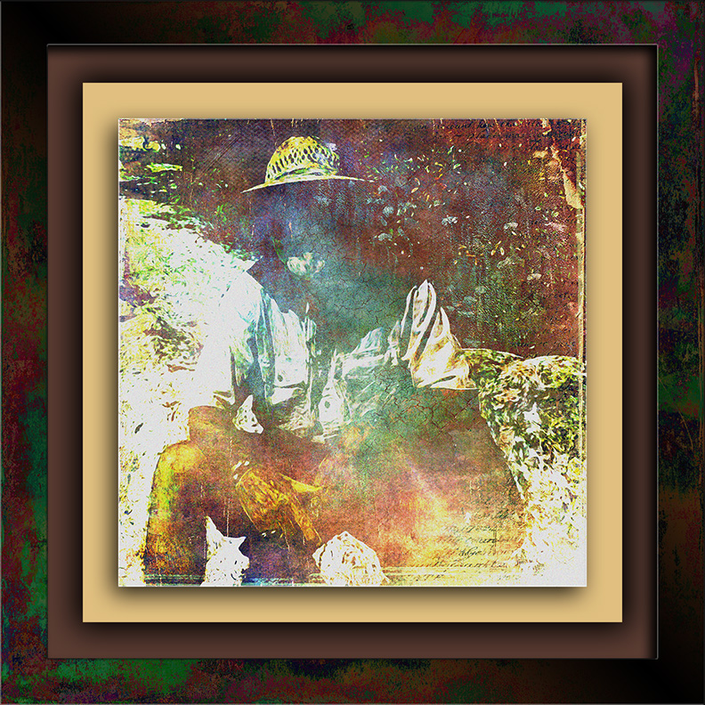 Old Hikers Fade Away 2 art blog