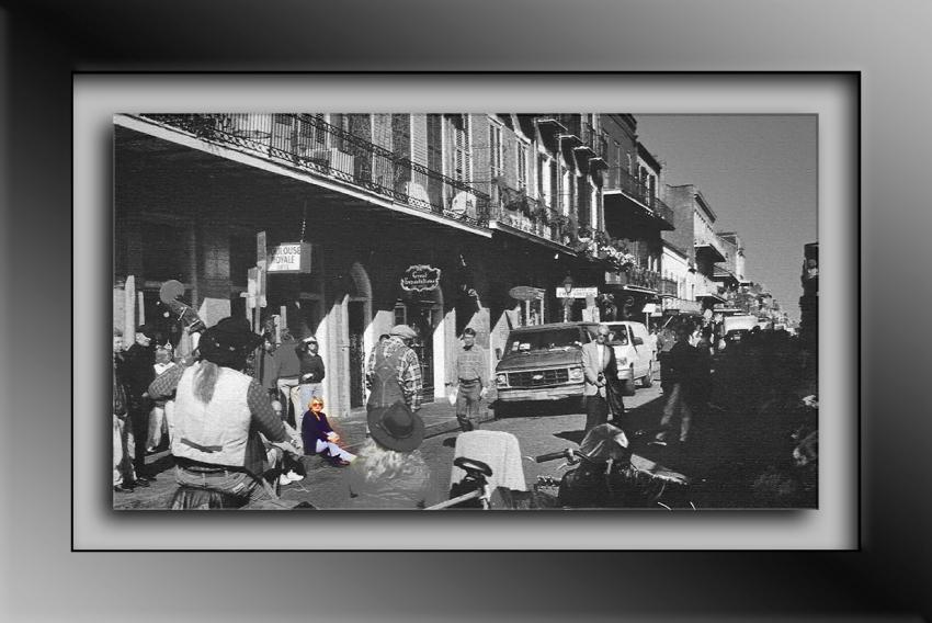 New Orleans 1 Street Music Color Me on Royale-Edit blog