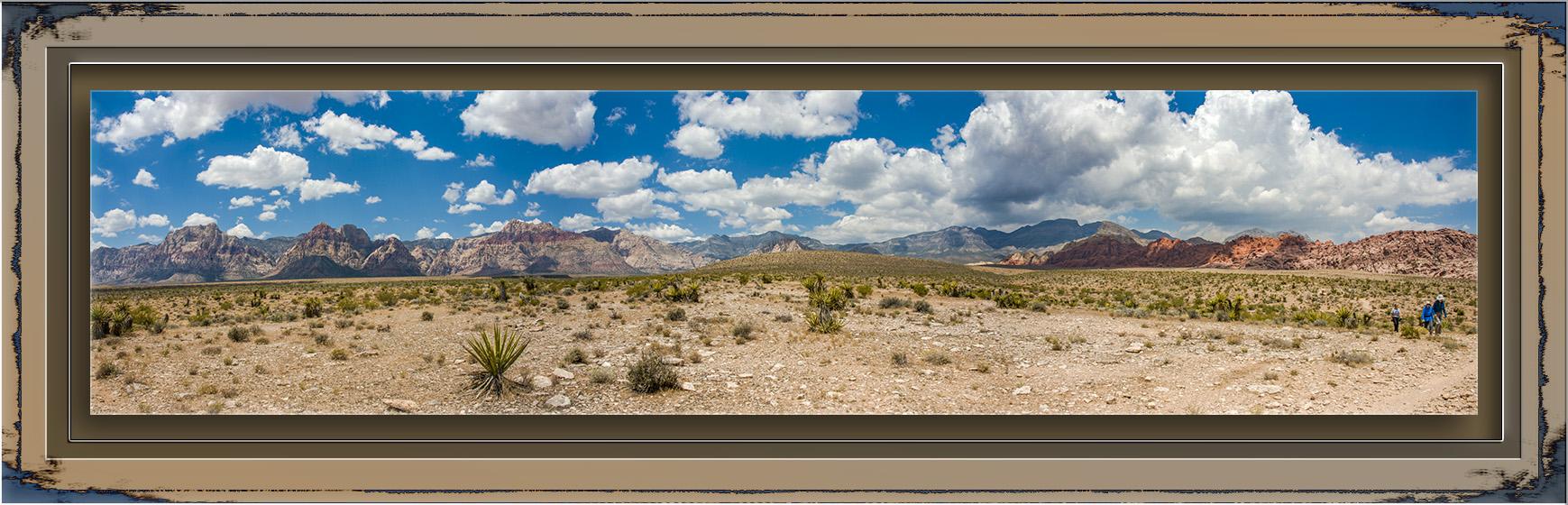 Red Rock Canyon Panorama blog
