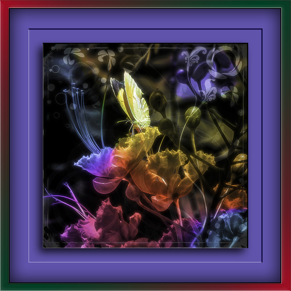 Yard flowers (1 of 1)-2Grunge Art-Edit blog