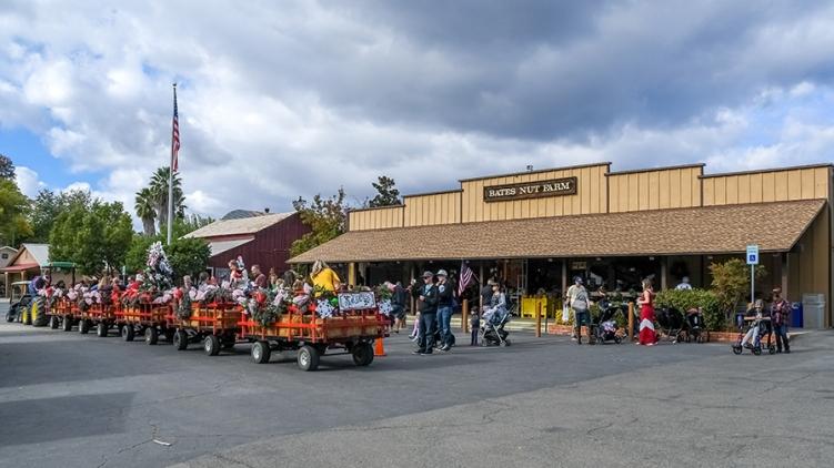 Bates Nut Farm Santa is Coming-4-blog