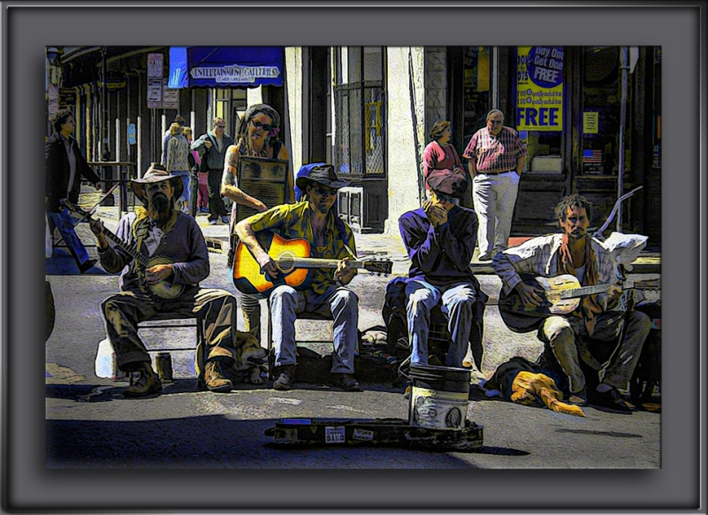 New Orleans 12-Street Scene-Art-blog