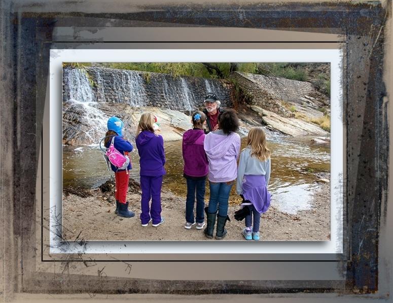 Teaching Kids In Sabino Canyon-blog