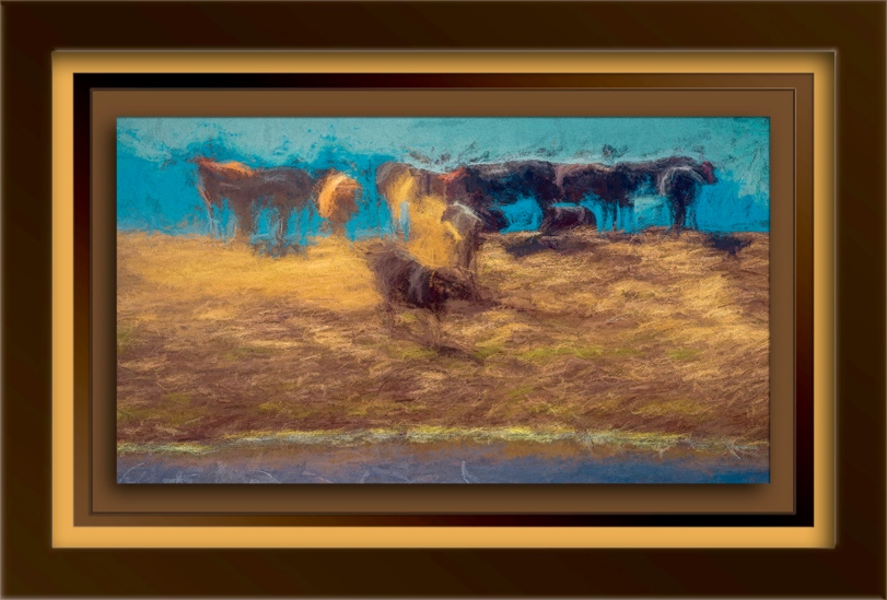 Cattle at Watering Hole-Edit-1-painting-blog