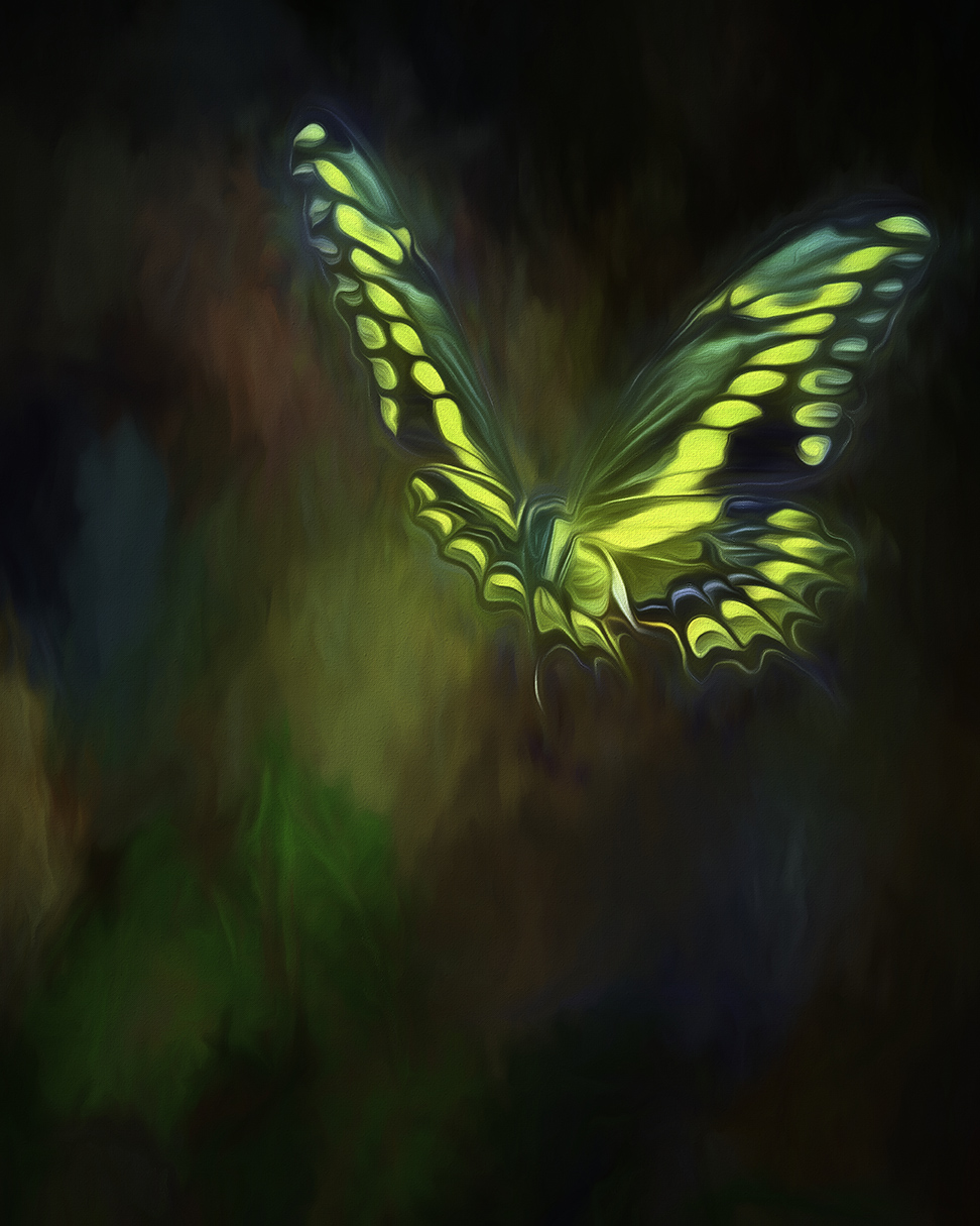 two-tailed swallowtail butterfly art-Edit-blog