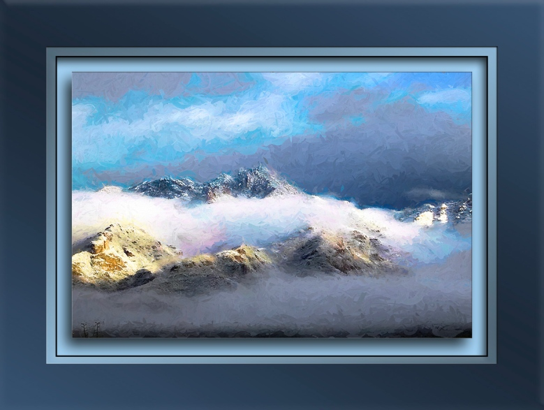 January 2nd Snow On The Mountains-art-1-72
