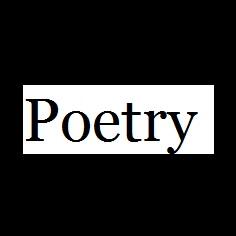 Poetry Black
