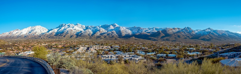 Tucson Snow Panorama-2-72