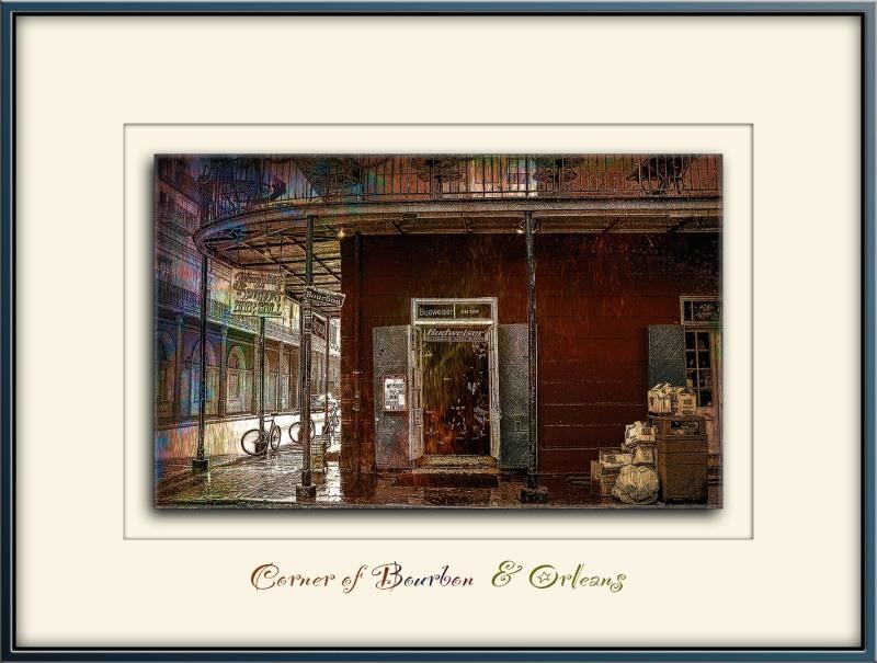 New Orleans Bourbon Street Art V Johnny White's  blog-