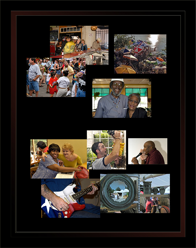 Organic Collage blog