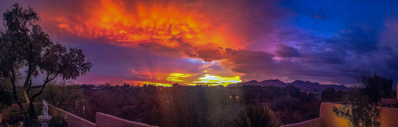 Patio Sunset Panorama-72