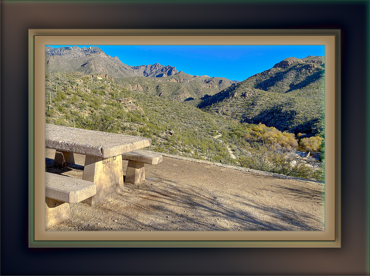 Sabino Canyon Dam Area-72